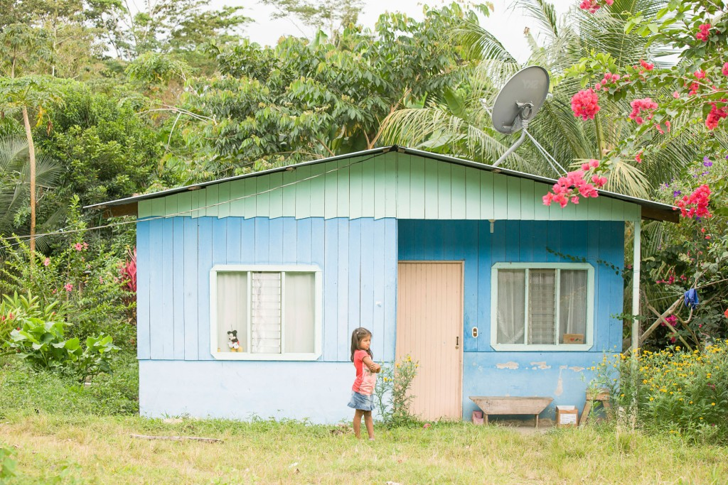 Young girl at home, Environmental tax to maintain forests in Costa Rica - If Not Us Then Who?