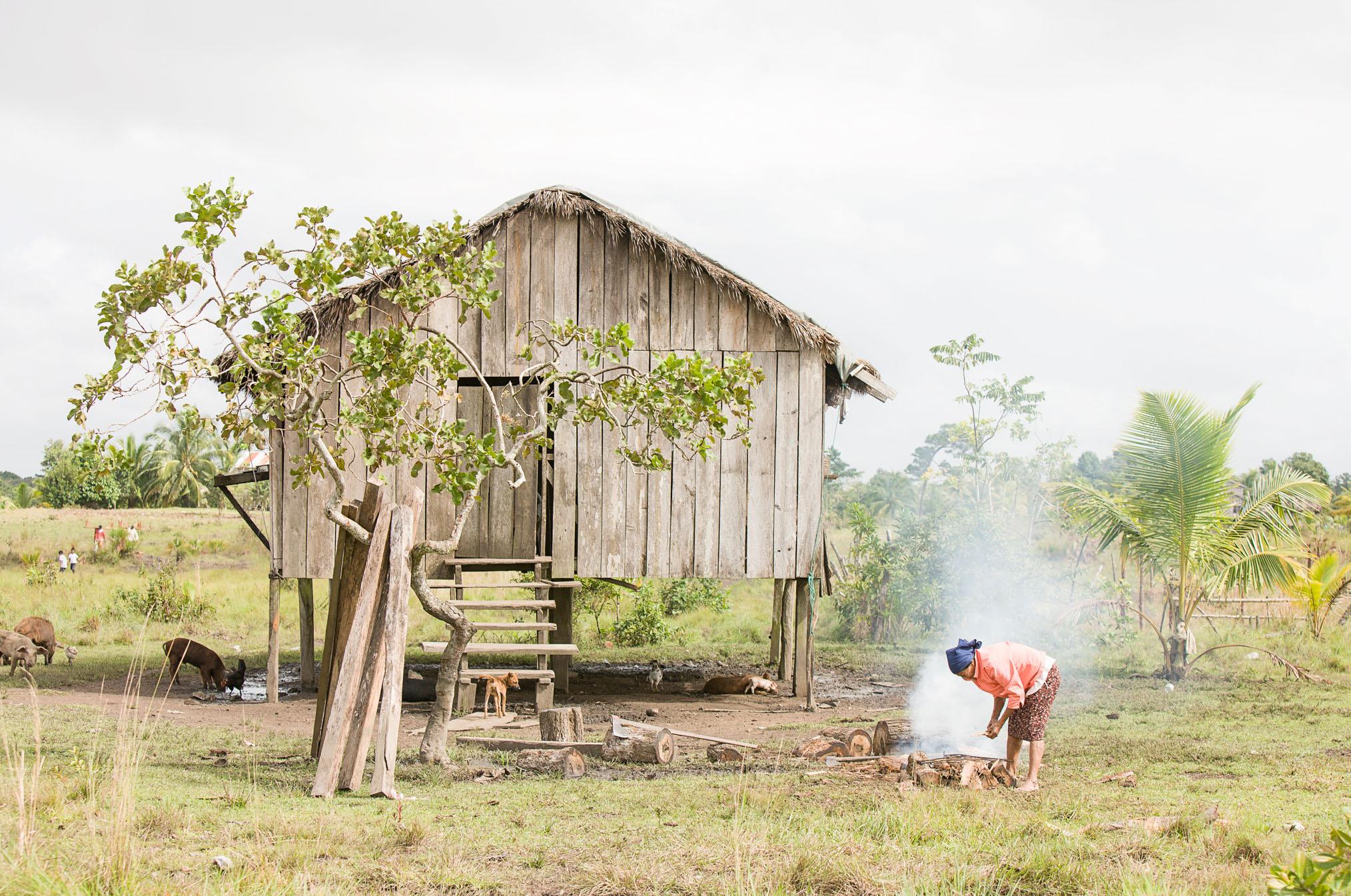 Cooking, La Mosquitia, Rumdin community, Honduras - If Not Us Then Who?