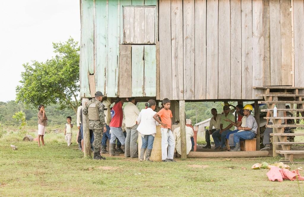 MASTA Community meeting, La Mosquitia, Rumdin community, Honduras - If Not Us Then Who?