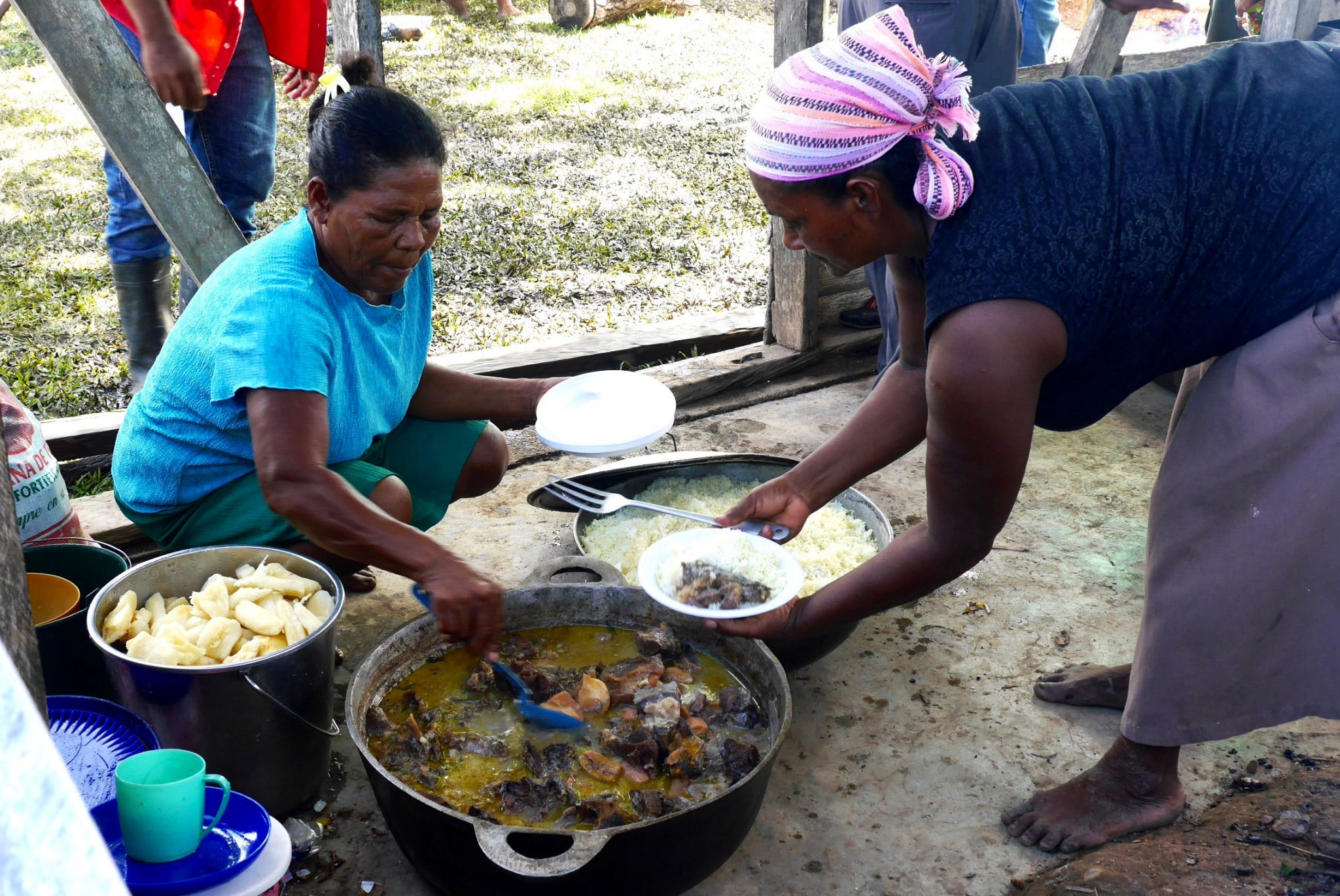Communal meals reinforce connection
