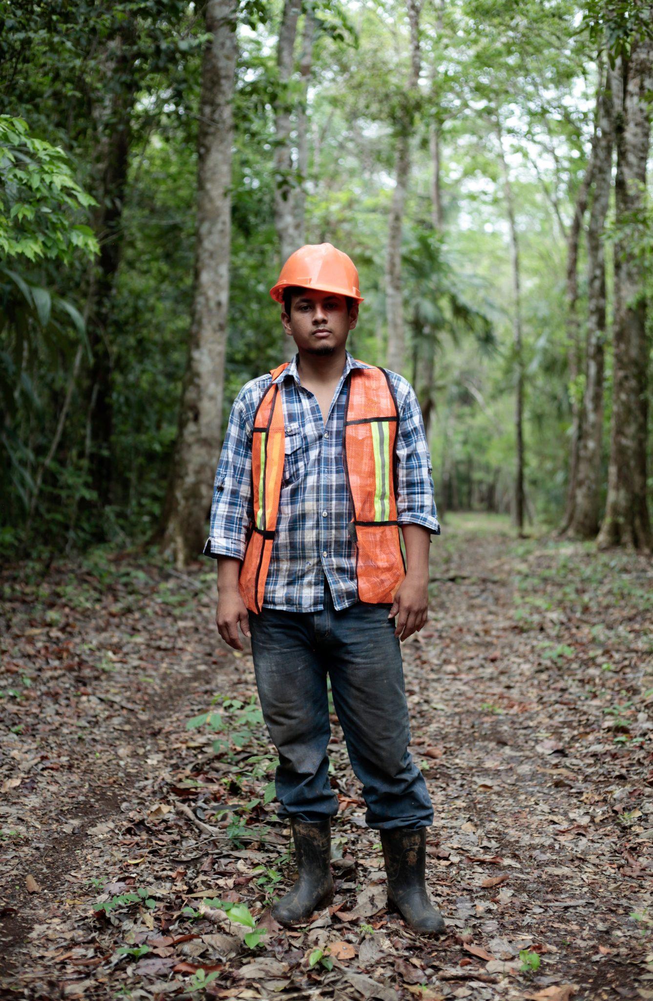 ACOFOP - Brecha Cortafuego Forest Fire Prevention Guatemala